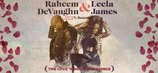 Leela James Tour Dates 2020 Raheem DeVaughn and Leela James Present The Love 'N Soul