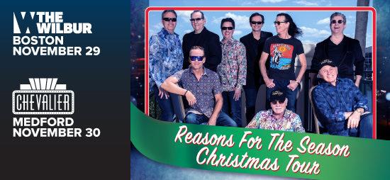Beach Boys Christmas.The Beach Boys Reason For The Season Christmas Tour The